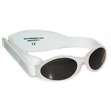 Gafas De Sol Para Niños Infantil Protección Tonos Kidz Banz Blanco Retro 2-5yrs