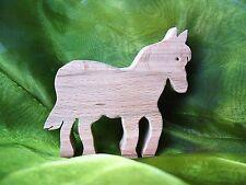 Pferd  aus Buche/ Holz/Dekoration Holzfigur Holzpferd Neu