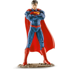 Superman Standing Action Figure Dc Comics Justice League Movie Hand painted New