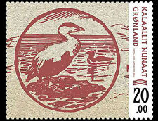 Groenland 2017  Bankbiljetten op postzegels 1     postfris/mnh.