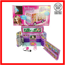 More details for britney spears  play along concert tour bus playset diorama house 2001 vintage