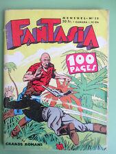 FANTASIA N° 13 de 1958 edi-europ CHOTT Black-Boy