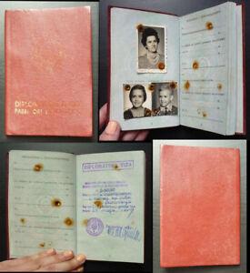 China c1972 Yugoslavia Family Diplomatic Passport -Expired Vintage Revolution A1