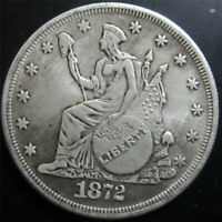 MarshLing Best Morgan US Dollars-1872 Coin Collecting-US Dollar USA Old