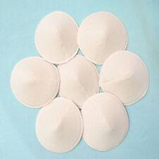 2PCS Soft Cotton Three-dimensional Spill Breast Pads Nursing Bra Washability