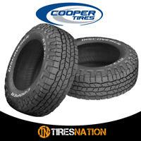 (2) New Cooper Discoverer AT3 XLT LT275/70R18/10 125S Tires