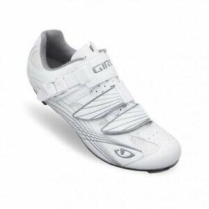 Giro Solara Patent White/Silver Women's Road Cycling Shoes