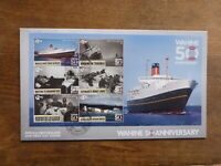 NEW ZEALAND 2018 50th ANNIV WARTIME 6 STAMP MINI SHEET FDC FIRST DAY COVER