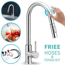 Smart Hand Touch Auto Sensor Tap Pull Out Kitchen Mixer Basin Faucet AU WELS