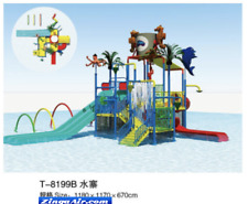 40x39x22 Commercial Splash Pad Water Park Slide Pool Inflatable Game Playground