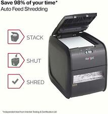 Commercial Paper Shredder Office Cross Cut Heavy Duty Industrial Plastic Cards
