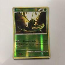 pokemon card 2010 Scyther Rare