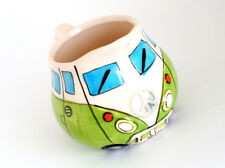 VW Bus Milk Jug In Green - Mint!