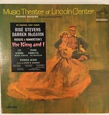 THE KING AND I, Original Cast Album, Lincoln Center Theater LP