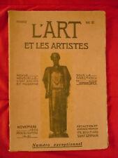 L'art et les artistes, Revue mensuelle d'art ancien et moderne. 1re année