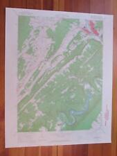 Huntingdon Pennsylvania 1965 Original Vintage USGS Topo Map
