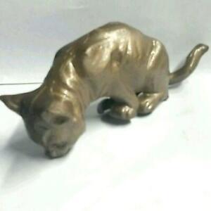 Antique Cast Iron Cat
