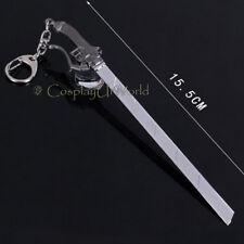 Attack On Titan Shingeki No Kyojin Prop Anime Sword Blade Dagger Weapon Keychain