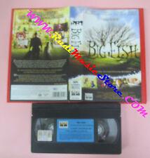 VHS film BIG FISH 2004 Tim Burton Mcgregor Finney COLUMBIA CC 82254 (F79) no*dvd