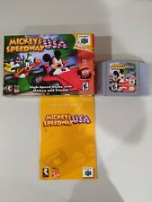 Mickey's Speedway USA Nintendo 64 N64 Complete In Box