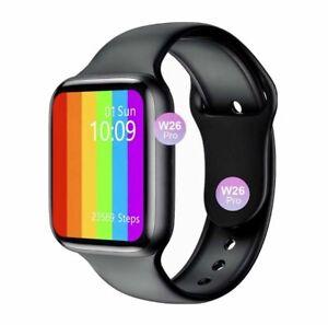 2021 W26+ Smart Watch 6 ECG PPG Heart Rate Monitor Bluetooth Waterproof
