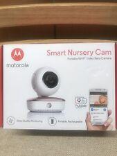 Motorola Smart Nursery Cam Portable Wifi Video Baby Camera