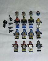 LEGO personaggio SPACE UFO ALIENO ROSSO sp046 2847 6915 6975 6979