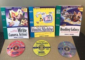 Reading Galaxy, Write Camera Action, The Amazing Writing Machine - Disc & Manual