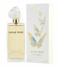 Hanae Mori Butterfly (Blue) for Women Eau de Parfum Spray 3.4 oz - New in Box
