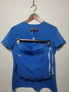 Figs Technical Collection Scrub Set Size Extra Small Catarina Blue