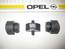 Opel Admiral/Diplomat B - 3 Puffer für Kühler unten/seitlich (NEU)