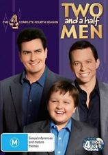 TWO and a half MEN : SEASON 4 : NEW DVD