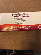 REPEAT THE HEAT FOOT WARMER REUSABLE HEAT PAD NIB