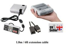 SNes + Nintendo Classic mini Extension Cable 1.8m 6ft Controller cable wii