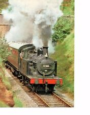 Severn Valley Railway Postcard.  Bridgenorth to Bewdley train