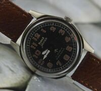 Vintage HMT Military 17Jewels Winding Wrist Watch For Men's Wear W-8603