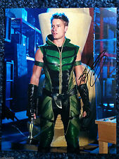 Smallville Green Arrow Justin Hartley Autographed Signed 11x14 Photo COA L