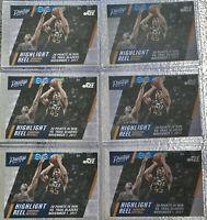 DONOVAN MITCHELL 2017 Prestige Highlight Reel Rookie #10 Utah Jazz RC 6 CARD LOT