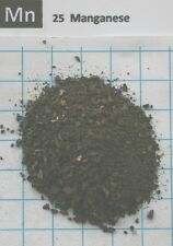 1 troy ounce Manganese metal granulate 99,85% pure element 25 sample