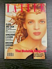 Tatler Magazine feat Uma Thurman by Matthew Rolston, March 1989