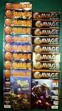 Ravage Magazine 17 Issue Lot #2-20, CoolMiniOrNot CMoN, Soda Pop, Ninja Division