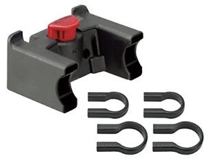 Rixen & Kaul Unisex's KlickFix Handlebar Adapter for Bar Bags and Baskets, One