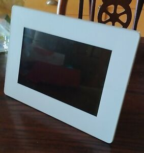 Agfa AF5071PS Digital Picture Frame 7' NO CHARGER tested working using USB Power