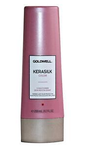 Goldwell Kerasilk Color Conditioner 6.7 oz / 200 ml Tamanu Oil prevents fading
