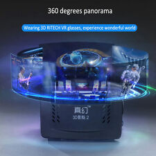 RITECH 2 réalité virtuelle VR 3D Lunettes Vidéo Pour iOS/Android