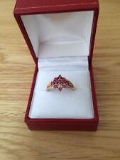 Gold Ruby Fine Rings