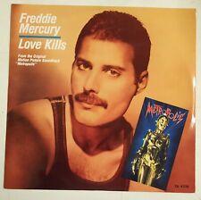 "Freddie Mercury Love Kills Maxisingle 12"" UK 1984                 Queen"