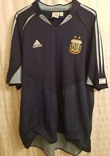 Argentina Vintage Team Blue Away Adidas Jersey SCARCE STYLE MESSI! Beauty!!