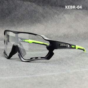KAPVOE Photochromic Goggles Cycling Sunglasses Unisex Sport Bike Glasses UK