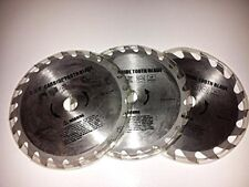 "Performance Tool 5 3/8"" Carbide Tipped Circular Saw Blade Set W8670 24T and 16T"